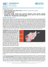 Afghanistan Flash Update | COVID-19 | Daily Brief No. 26 | 04 Apr 2020