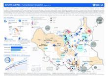 South Sudan: Humanitarian Snapshot (August 2016)