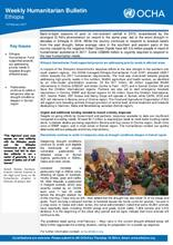 Ethiopia Weekly Humanitarian Bulletin, 13 February 2017