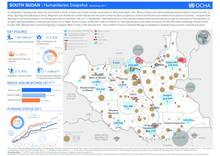 South Sudan: Humanitarian Snapshot (September 2017)