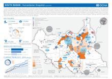 South Sudan: Humanitarian Snapshot (June 2016)