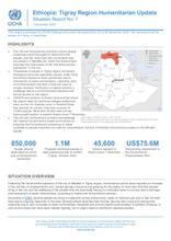 Ethiopia: Tigray Region Humanitarian Update Situation Report No.7, 01 DEC 2020 [EN]