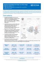 """RD Congo : Rapport de Situation N°3 """"Bilan final de la réponse L3 d'octobre à avril 2018"""" (22 juin 2018)"""