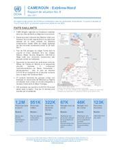 CAMEROUN : Extrême-Nord Rapport de situation No. 8, Mars 2021 [FR]