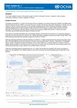 Flash Update No. 1: Conflict in North-eastern Afghanistan (17 April 2016)