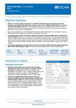 Lake Chad Basin: Crisis Update No. 9 - 1 November 2016