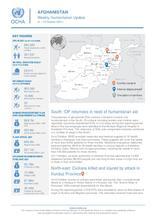 Afghanistan Weekly Humanitarian Update  | 4 – 10 October 2021