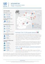 Afghanistan Weekly Humanitarian Update    7 to 13 October 2019