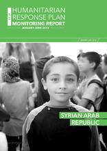 Syrian Arab Republic: Humanitarian Response plan Monitoring Report, January-June 2018