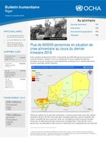 Niger : Bulletin Humanitaire Octobre-Novembre 2018