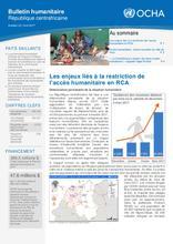 RCA: OCHA Bulletin humanitaire Numero 22 (avr 2017)