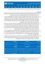 (الجمهورية العربية السورية: شمال شرق سورية تقرير الحالة رقم 30 (1 تشرين الثاني/نوفمبر - 14 كانون الأول/ديسمبر 2018