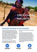 Drought in Mauritania - Highlight of the humanitarian situation