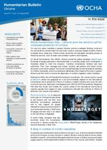 Ukraine: Humanitarian Bulletin | Issue 27 | 1 July –  31 August 2018