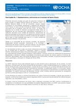 Colombia – Flash Update No. 1: Desplazamientos y restricciones en el municipio de Suárez (Cauca)