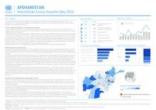 AFGHANISTAN: Humanitarian Access Snapshot (MAY 2020)