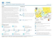 Tchad - Aperçu de la situation humanitaire au Sud (septembre 2020)