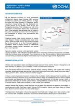 Kunar Conflict - Update (as of 3 April 2019)