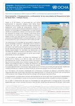 Flash Update No. 1: Desplazamiento y confinamiento de las comunidades del Resguardo de Calle de Santa Rosa – Timbiquí (Cauca)
