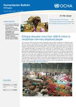 Ethiopia Weekly Humanitarian Bulletin, 25 Dec 2017 - 7 Jan 2018