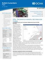 Niger: Bulletin humanitaire Juin/Juillet 2016