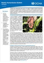 Ethiopia Weekly Humanitarian Bulletin, 27 June 2017