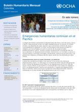 Colombia: Boletín Humanitario Mensual - Número 57 | Febrero 2017