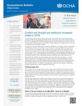 Humanitarian Bulletin Afghanistan | Issue 79 | 1 October – 31 December 2018