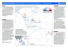Asia and the Pacific: Weekly Regional Humanitarian Snapshot (6 - 12 February 2018)