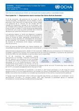 Flash Update No. 1: Desplazamiento masivo municipio San Calixto (Norte de Santander)