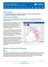 RD Congo - Nord-Kivu : Note d'informations humanitaires du 15 janvier 2018