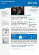 Ukraine: Humanitarian Bulletin | Issue 25 | 1 March – 30 April 2018