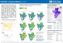 BURUNDI   snapshot Malaria (Juin 2017) [FR/EN]