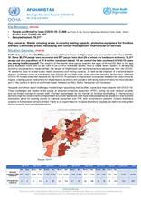 Afghanistan Flash Update | COVID-19 | Strategic Situation Report No. 60 | 09 July 2020