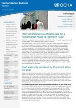 Yemen Humanitarian Bulletin Issue 14 | As of 31 July 2016 [EN/AR ]