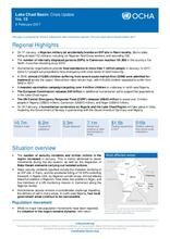 Lake Chad Basin: Crisis Update No. 12 - 06 February 2017