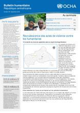RCA: OCHA Bulletin humanitaire #38 (sept 2018)