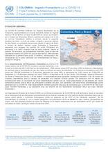 COLOMBIA, PERÚ y BRASIL: Flash Update No. 02 - Impacto humanitario por la COVID-19 en la triple frontera de Amazonas (19/02/2021)