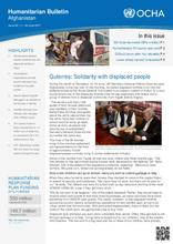 Afghanistan Humanitarian Bulletin Issue 65 (01 - 30 June 2017)
