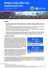 Ethiopia: Gedeo-West Guji Displacement Crisis, Situation Update No.6