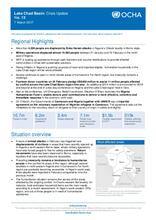 Lake Chad Basin: Crisis Update No. 13 - 07 March 2017