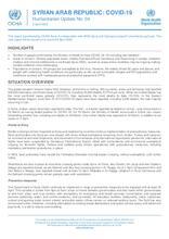 Syrian Arab Republic: COVID-19 Update No. 04 - 2 April 2020