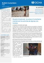 OCHA Haiti Humanitarian Bulletin #63 _ July 2016 (FR/EN)
