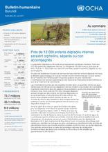 Burundi : Bulletin Humanitaire   Juin 2017