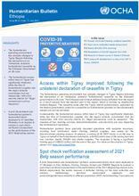 Ethiopia Bi-Weekly Humanitarian Bulletin, 21 JUN - 11 JUL 2021 [EN]