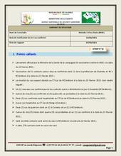 Guinée : Rapport de situation sur l'épidémie de la Maladie à Virus Ebola (MVE) - 24 février 2021 [FR]