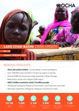 Lake Chad basin: Crisis update N0.22 January - February 2018