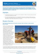 Ethiopia Humanitarian Response Situation Report No.6 (as of 30 October 2016)