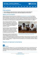 RD Congo - Sud-Kivu et Maniema : Note d'informations humanitaires du 22 mai 2018