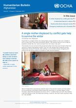 Afghanistan Humanitarian Bulletin | Issue 83 | 1 October - 31 December 2019